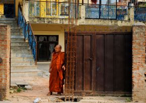 Waiting Monk