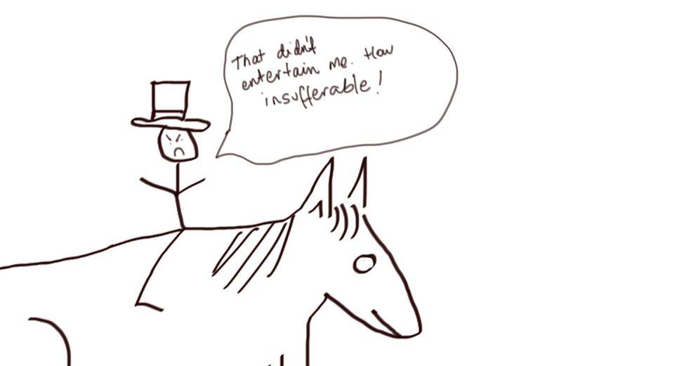 horsenoentertain